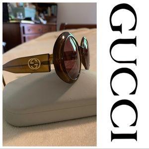 Vintage 80' Gucci Sunglasses